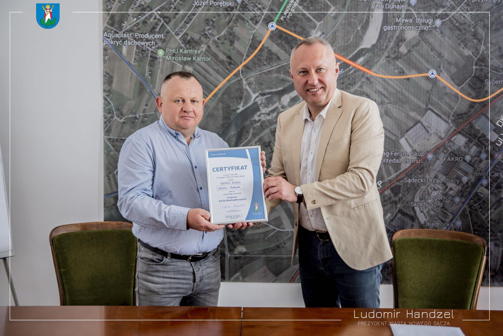 ? VIDEOPIXEL, HD STUDIO – partnerem Karty Nowosądeczanina.??