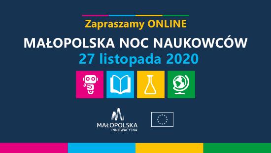 Małopolska Noc Naukowców 2020.