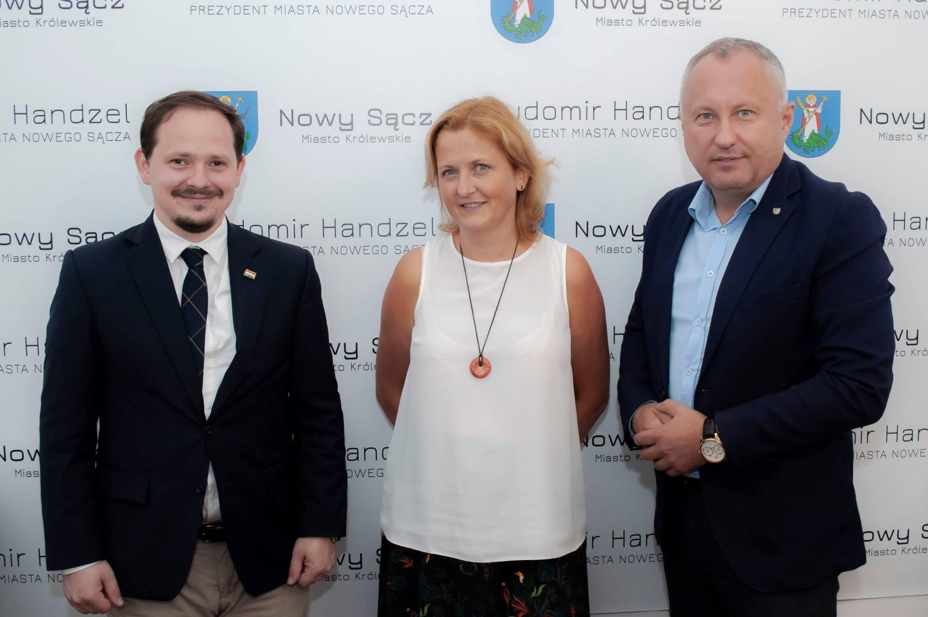 🇵🇱🇭🇺 Miła wizyta dr Tibora Gerencséra, Konsula Generalnego Węgier w Krakowie. 🇵🇱🇭🇺
